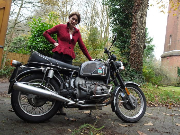 elspeth and bike