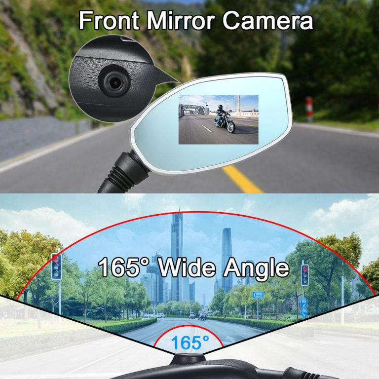 motorcycle camer mirrors 4