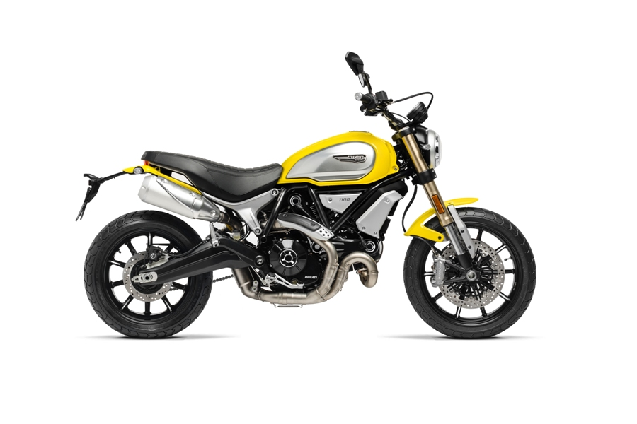 02 SCRAMBLER 1100 YELLOW