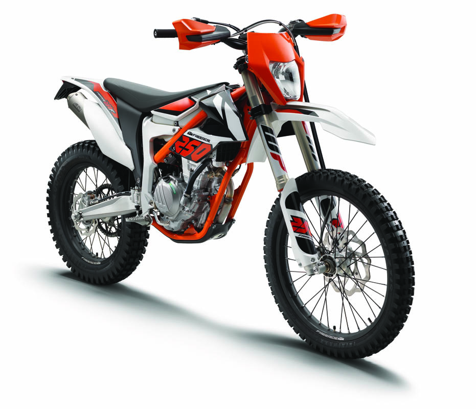 KTM FREERIDE 250 F MY 2018 Studio right front