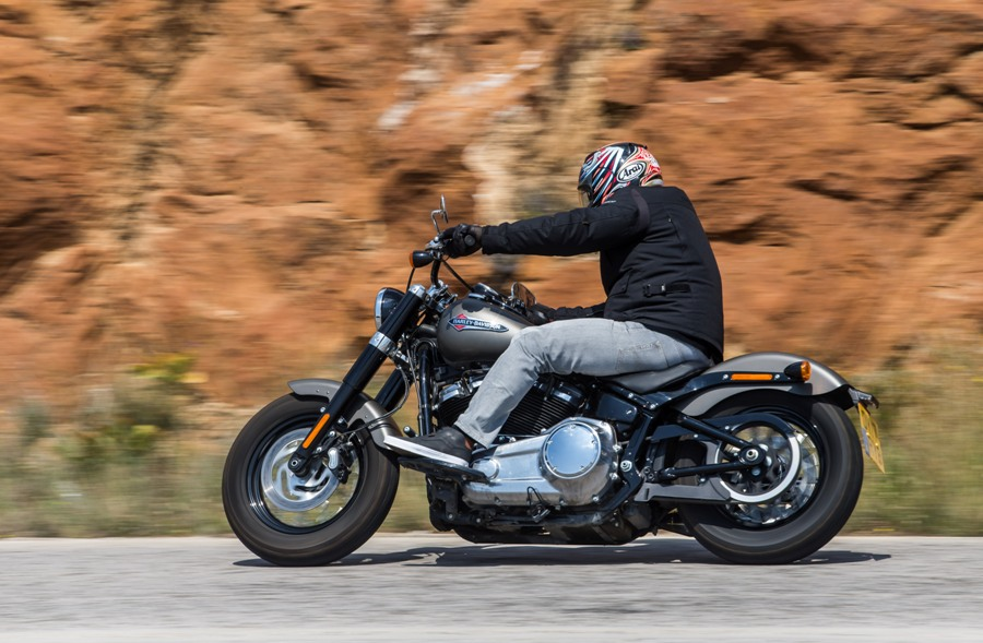 H D Softail Slim 3