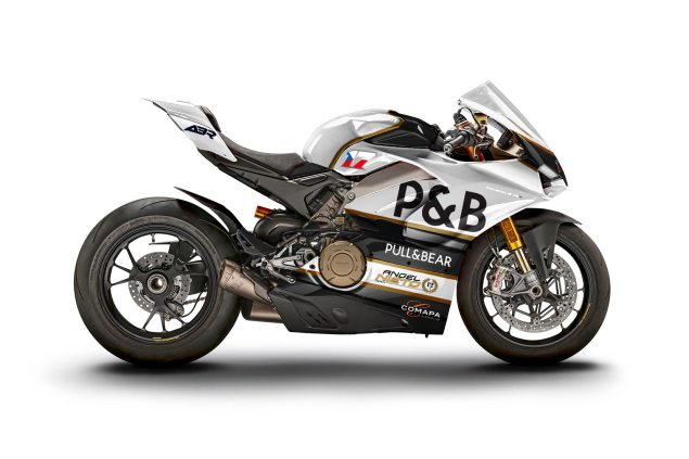 M Ducati Panigale V4 S WDW2018 livery Abraham