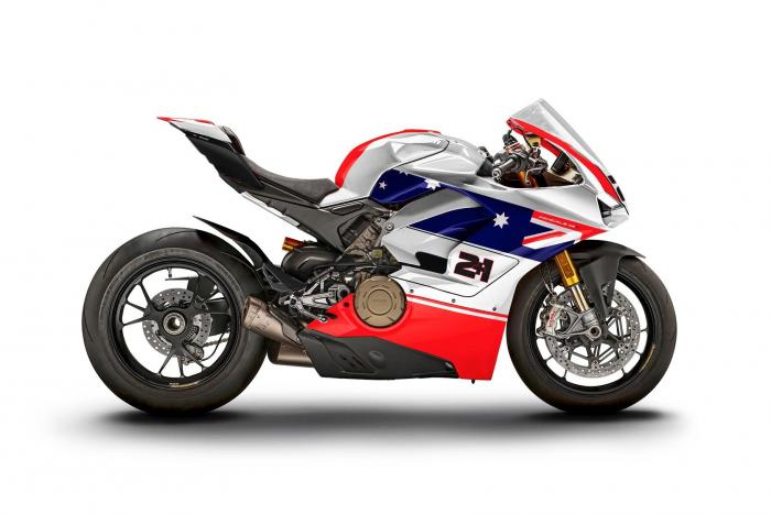 M Ducati Panigale V4 S WDW2018 livery Bayliss