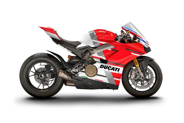 M Ducati Panigale V4 S WDW2018 livery Lorenzo