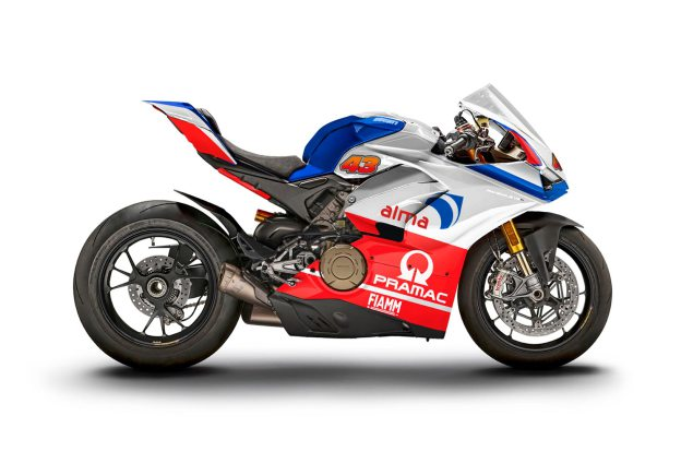 M Ducati Panigale V4 S WDW2018 livery Miller