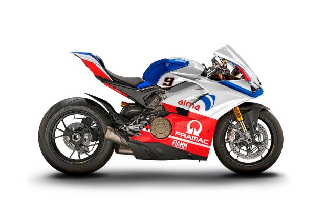 M Ducati Panigale V4 S WDW2018 livery Petrucci