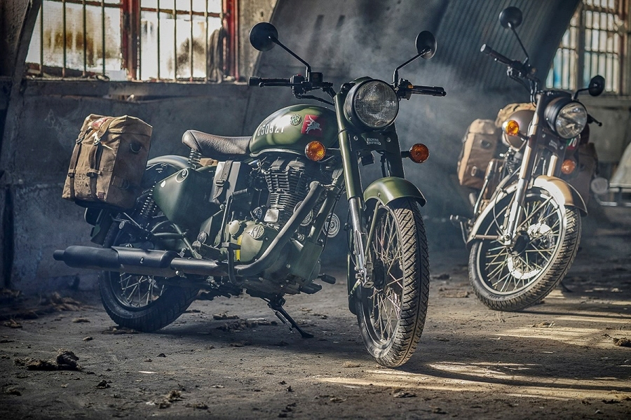Limited edition 2018 Royal Enfield Classic 500 Pegasus 1