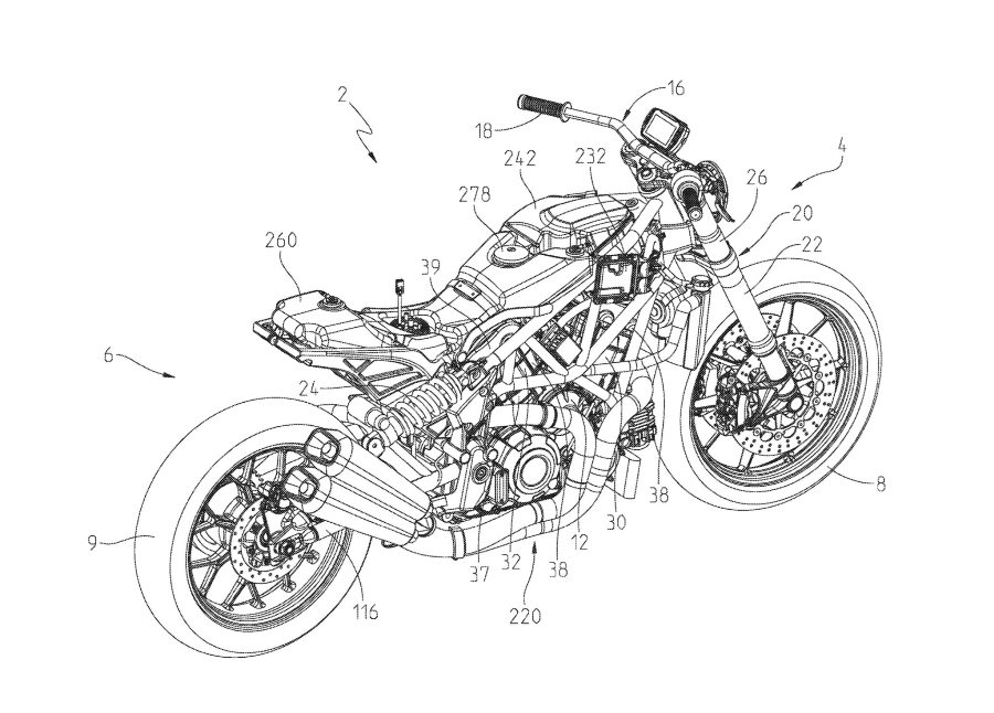 2019 Indian FTR1200 patent 10 1