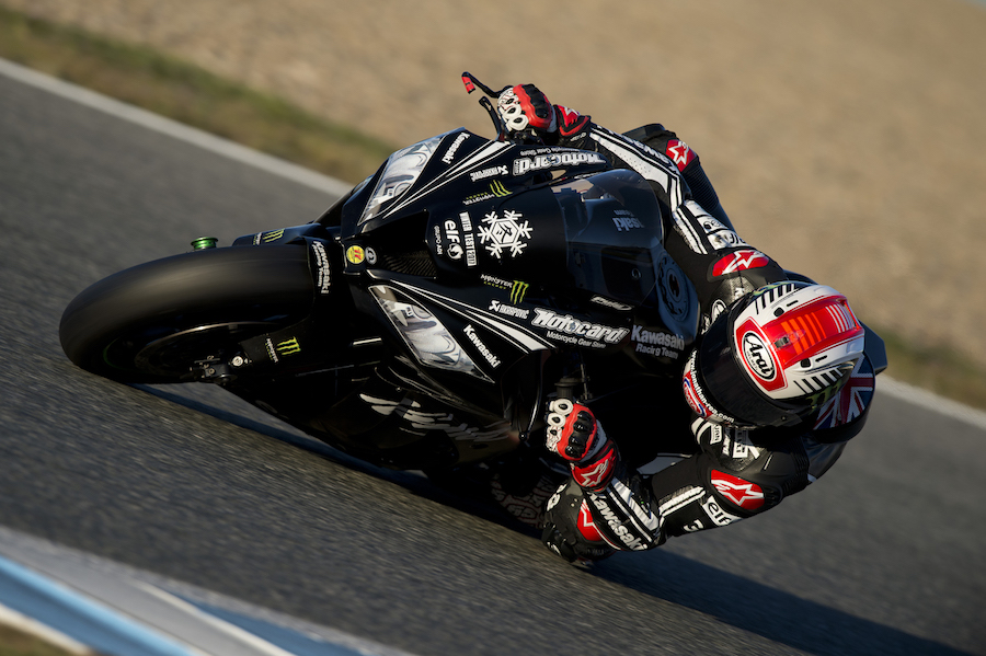 Test Jerez WorldSBK 2017 Rea GB41405A