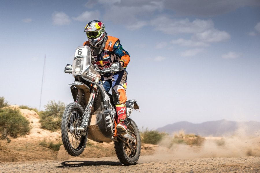 1 Walkner KTM OiLibya Rally 2