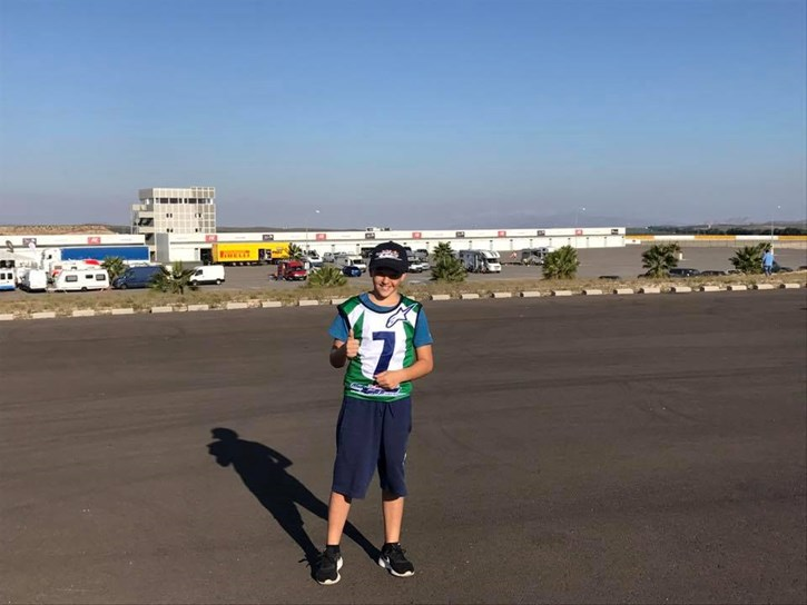 Peristeras ready for rookies cup 4