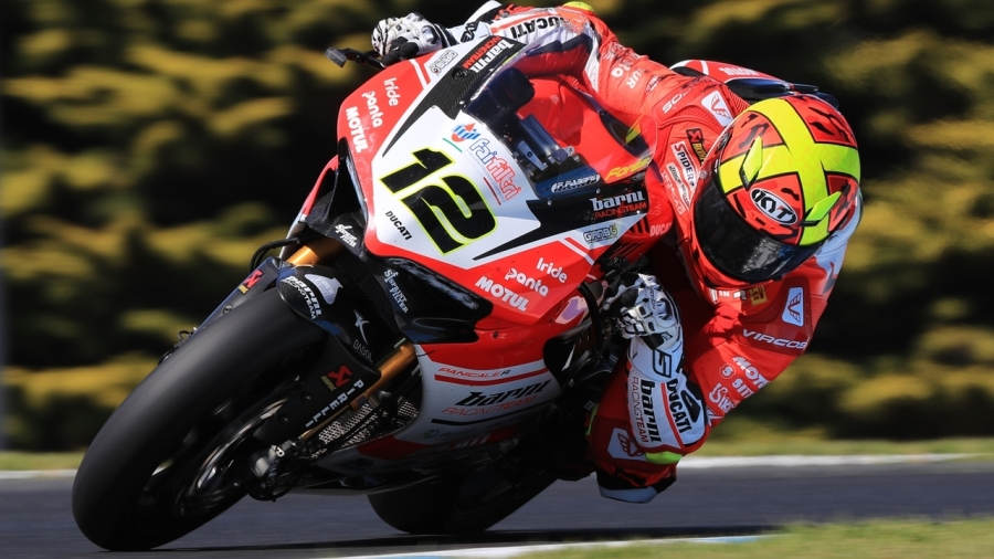 worldsbk test phillip island 4