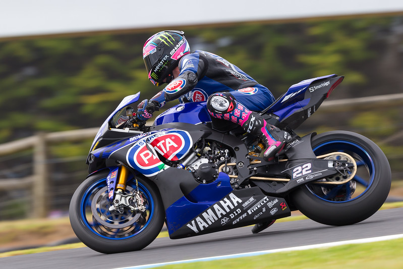 worldsbk test phillip island 5