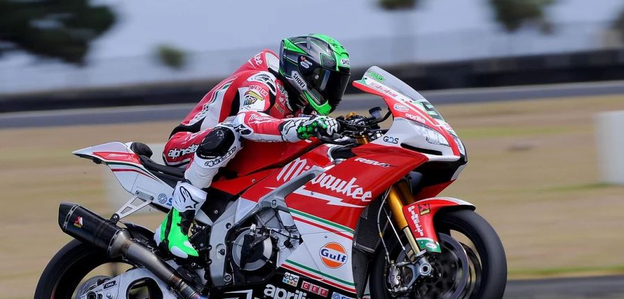 worldsbk test phillip island 6
