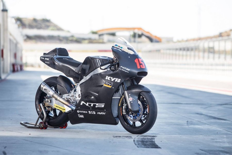 triumph engine moto2 aragon test 4