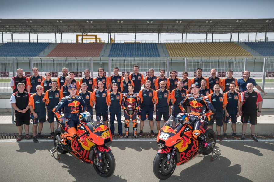 222767 Red Bull KTM MotoGP Factory Racing Team 2018