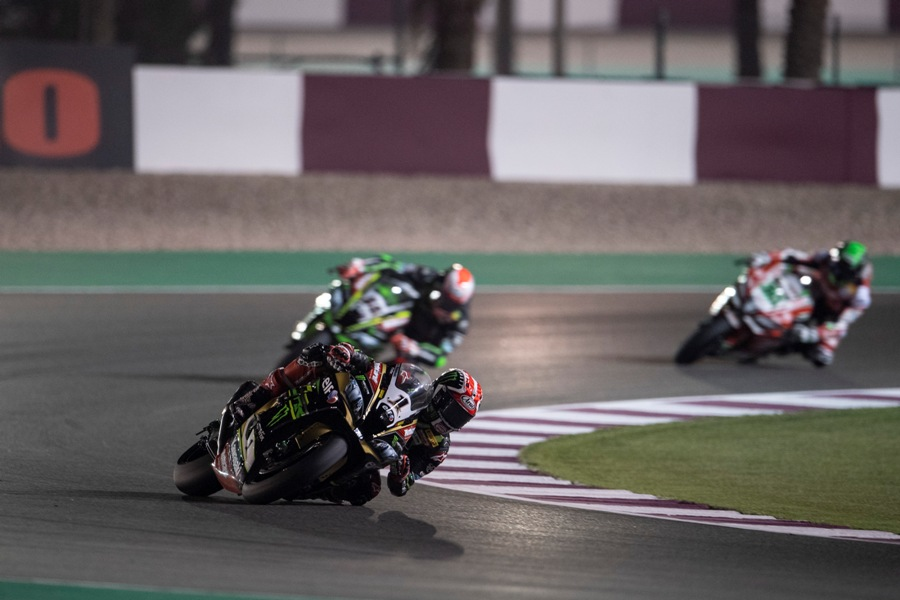 hi 13 Losail WorldSBK 2018 Friday Rea GB55403