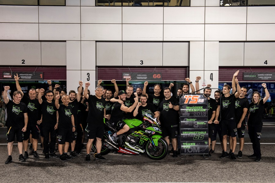 hi 13 Losail WorldSBK 2018 Saturday Sykes GB57588