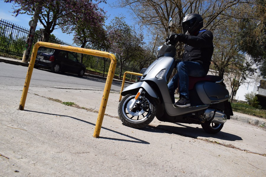 kymco like ii 125 action 3