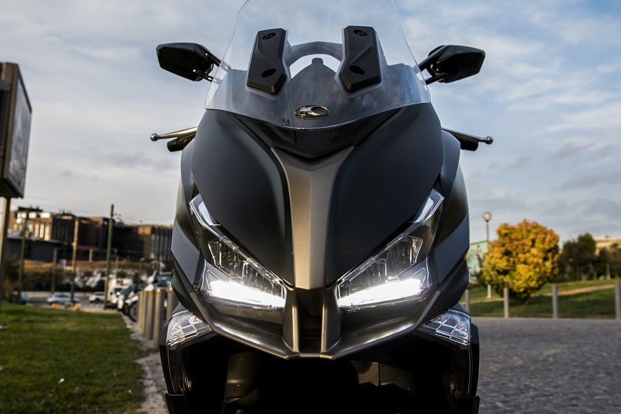 kymco Xciting S 400i details 1