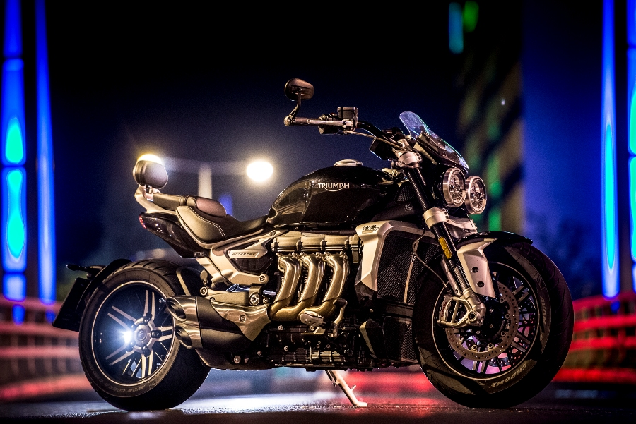 Triumph Rocket 3 GT static 8